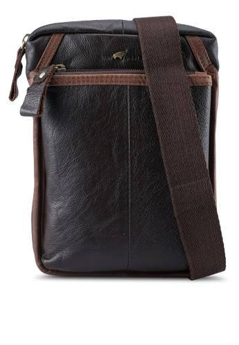 RAV Design black Leather Sling Bag RA113AC0SJ9KMY_1