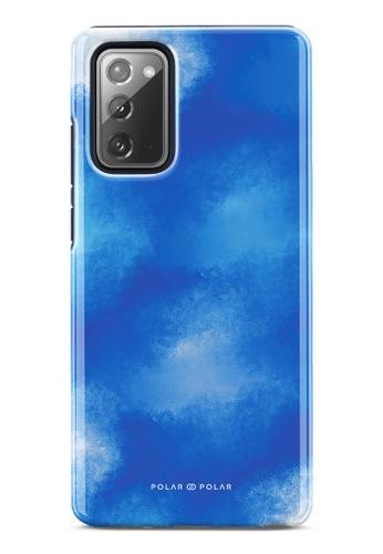 Polar Polar blue Clouds in Summer Dual-Layer Tough Case Glossy For Samsung Galaxy Note20 5G 00B8DAC3C77F33GS_1