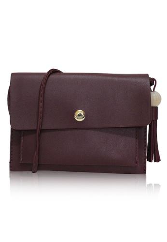 Dazz red Mini Envelope Bobble Bag - Red  DA408AC0RIBAMY_1