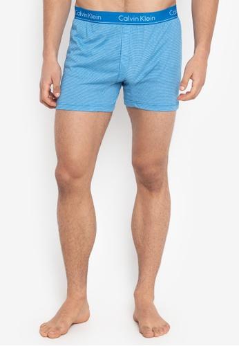 Calvin Klein blue Basic Boxer Slim Fit Print C0C28US450461CGS_1