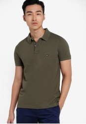 Tommy Hilfiger green SLIM FIT POLO S/S SF TO729AA71LVKSG_1