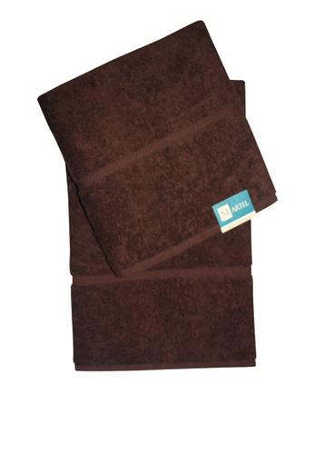 Martel brown Martel Basic Big Bath FE027HLC1FA3F9GS_1