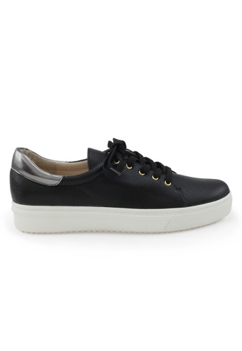 Shu Talk black Causal Chic Sporty Sneakers in Black SH617SH2VI89HK_1