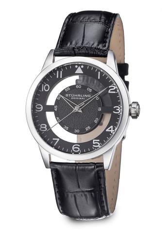 Aviator 650 經典真皮圓錶,esprit 價位 錶類, 皮革錶帶