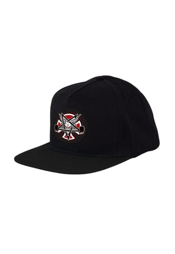 Thrasher black Thrasher x Independent Pentagram Cross Snapback  389CEAC380A257GS 1 6abcf5560d46
