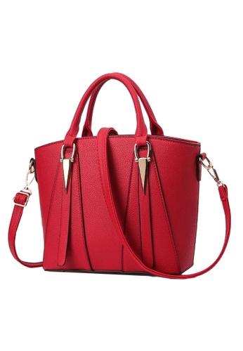 TCWK red Ladies Shoulder Bag TC258AC94WRXMY_1