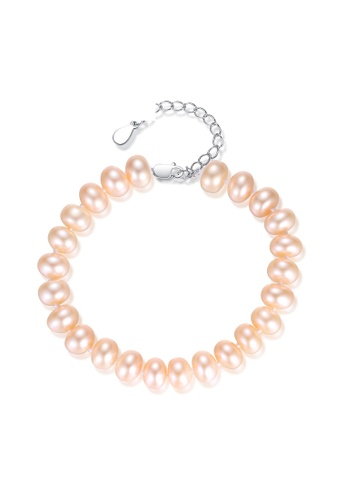 A.Excellence pink Premium Pink Pearl Bracelet 5487CAC62FD6FAGS_1