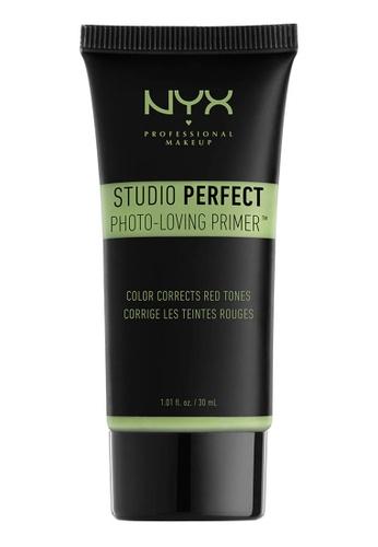 NYX Professional MakeUp green NYX PROFESSIONAL MAKEUP Studio Perfect Primer - Green BBEEDBEA1BB343GS_1