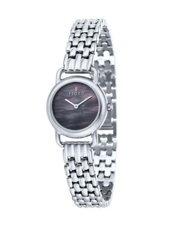 Fjord silver Fjord Women's Solid Bracelet Watch - FJ-6010-11 80831ACE096616GS_1