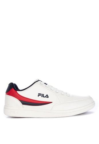 Fila white Fc Troy Sneakers 76CEASHCD83B2EGS_1