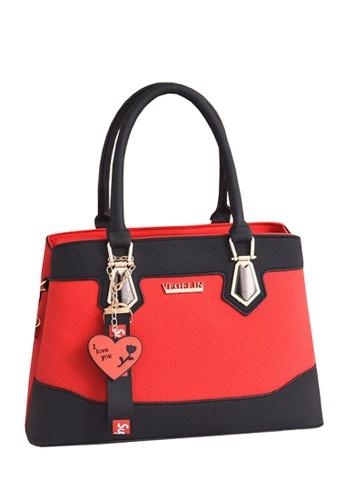 TCWK red TCWK Korea Style Women Handbag - Red E9FBAACFB77A78GS_1