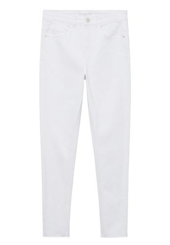 MANGO KIDS white Slim-Fit Jeans F2597KAE2A77D3GS_1