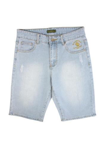 Santa Barbara Polo & Racquet Club blue SBPRC Short Denim 25-1101-93 72EE2AA406B8BBGS_1