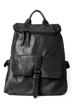 fc42b01770d Amdacious black Strafford Leather Backpack AM265AC15HXSHK_1