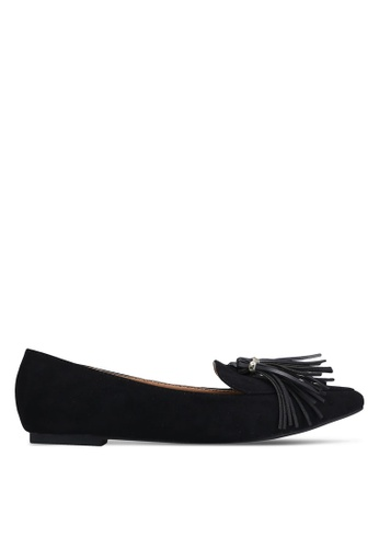 ZALORA black Tassel Loafers 434EDSH422CF93GS_1