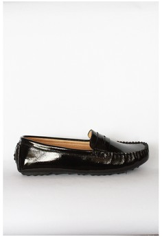 Cassandra' Patent Leather Penny Loafers