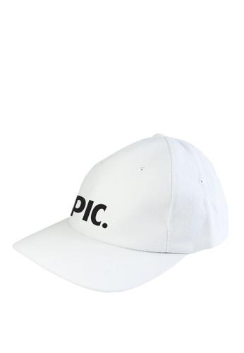 HYPE MNL white Epic  Baseball Cap 0209DACF88F24BGS_1