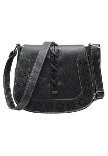 The Papillon Design black Papillon Bag - Messenger Bags Vintage TH964AC35KDSMY_1