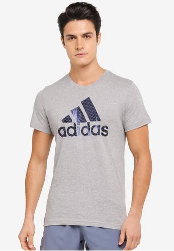 adidas grey adidas bos foil AD372AA0SSOAMY_1