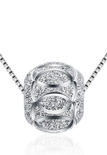 LYCKA silver LPP88184 S925 Silver Necklace 2B5EAACEA99981GS_1