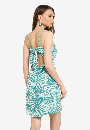 Mink Pink white and green Feeling Fresh Mini Dress 79233AA6E9EC41GS_1