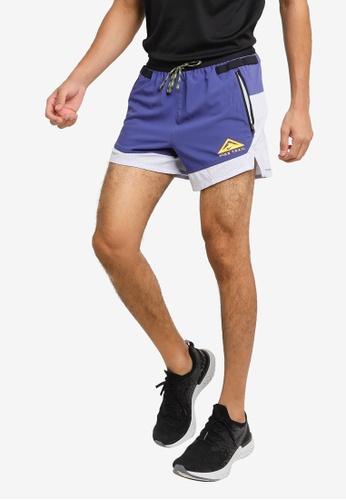 Nike purple Dri-FIT Flex Stride Trail Shorts 74A66AA9397897GS_1