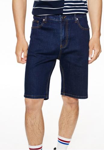 Life8 藍色 Casual Classic Denim Shorts-02463-Navy F4C4CAA0D03D3FGS_1