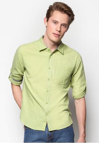 esprit outlet 桃園長袖襯衫, 服飾, 素色襯衫