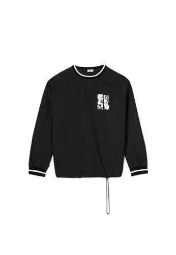 """Kenzo black Kenzo """"Mermaids"""" Sweatshirt in Black 2AD98AAE33BB63GS_1"""