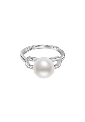 Pearly Lustre silver Pearly Lustre New Yorker Freshwater Pearl Ring WR00072 85021AC7359201GS_1
