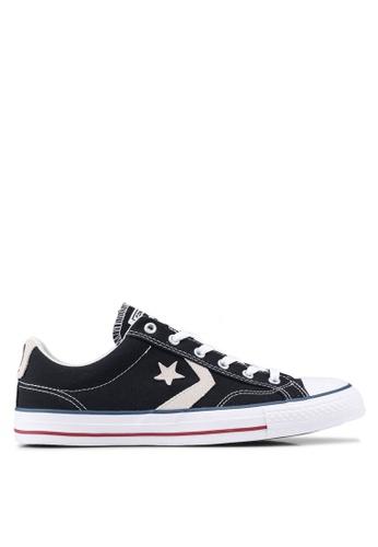 Converse black Star Player Ox Shoes 6E486SHE4F3523GS_1