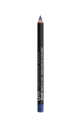 NYX Professional MakeUp blue Suede Matte Lip Liner - Jet Set 4AE8CBEC7EC609GS_1