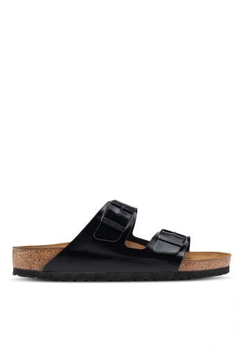 Birkenstock black Arizona Patent Sandals A767BSH6246533GS_1