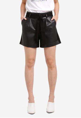 ESPRIT black Woven Shorts ES374AA0T142MY_1