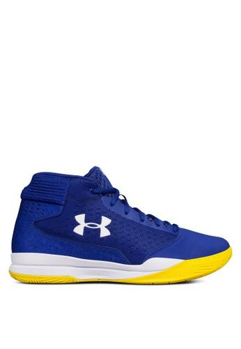Under Armour blue UA Jet Mid Shoes UN337SH0SUA7MY_1
