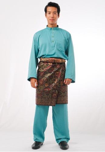 KAMDAR green Mutaal Baju Melayu 3E558AA2EF3CFCGS_1
