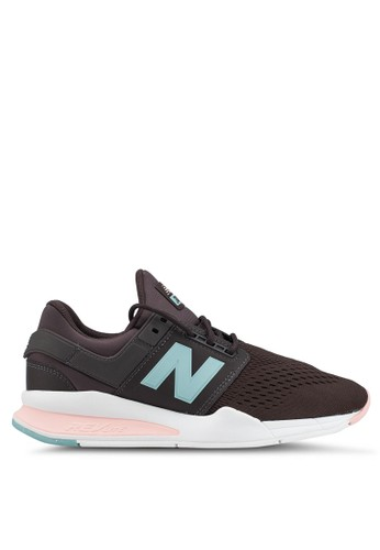 New Balance black and pink 247 Lifestyle Shoes 96146SHA9C2D93GS_1