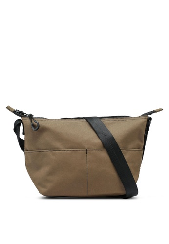 niko and ... brown Canvas Crossbody Bag 8DCC8AC173561CGS_1