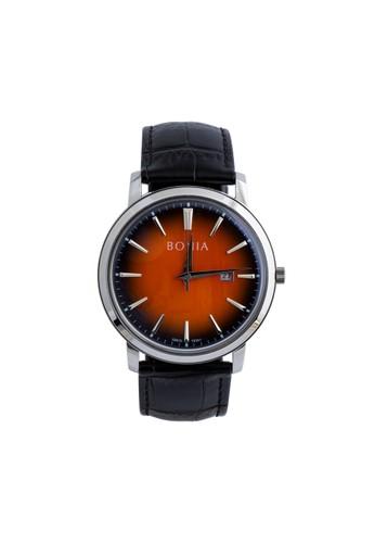 BONIA black Bonia - B10341-1322 - Jam Tangan Pria - Black BO710AC0VT9EID_1