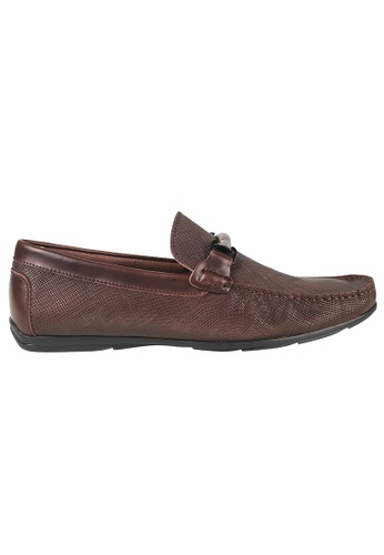 Tomaz brown Tomaz C283 Front Buckle Loafers (Coffee) AC1E4SHBB615B2GS_1