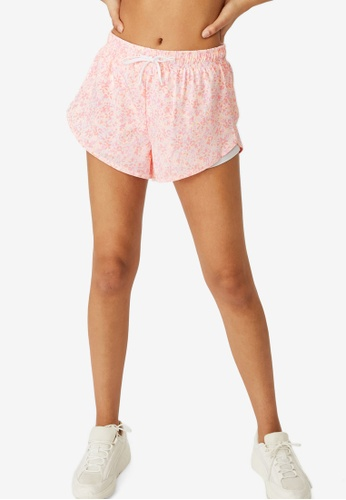 Cotton On Body pink Move Jogger Shorts 233B1AAF4E717DGS_1