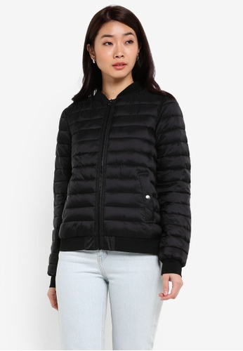 ZALORA black Soft Padded Jacket 456F9ZZB5C6D66GS_1
