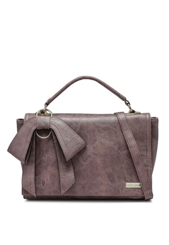 Verchini purple Premium Bag With Bow F1B36AC346E66AGS_1