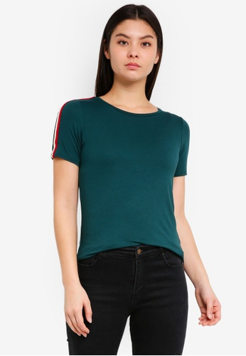Dorothy Perkins green Trim Tshirt 420B8AA2859EC4GS_1