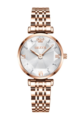 OLEVS white [Valentines Special]  Olevs Eonian Women Quartz Watch 01752AC5048A5CGS_1