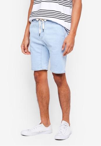 Cotton On blue Customised Denim Shorts E053FAA4F85B1EGS_1