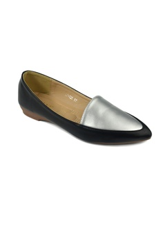 9bd829608ef SHINE Faux Leather Loafers S  29.90. Available in several sizes · SHINE  black SHINE Point Toe Flora Flats 90D2BSH1899914GS 1