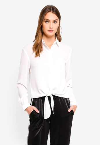Brave Soul white Long Sleeve Shirt 6B249AAF47D6C2GS_1