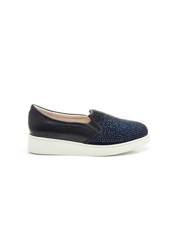 Elisa Litz blue Tatiana Sneakers (Blue) 50DCFSHF53322DGS_1