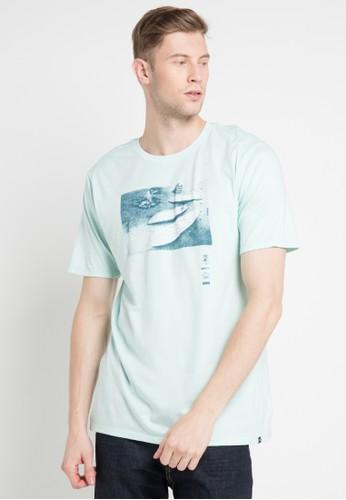 hurley blue Amigos Premium Ss T-Shirt BFB83AA55B6CC1GS_1